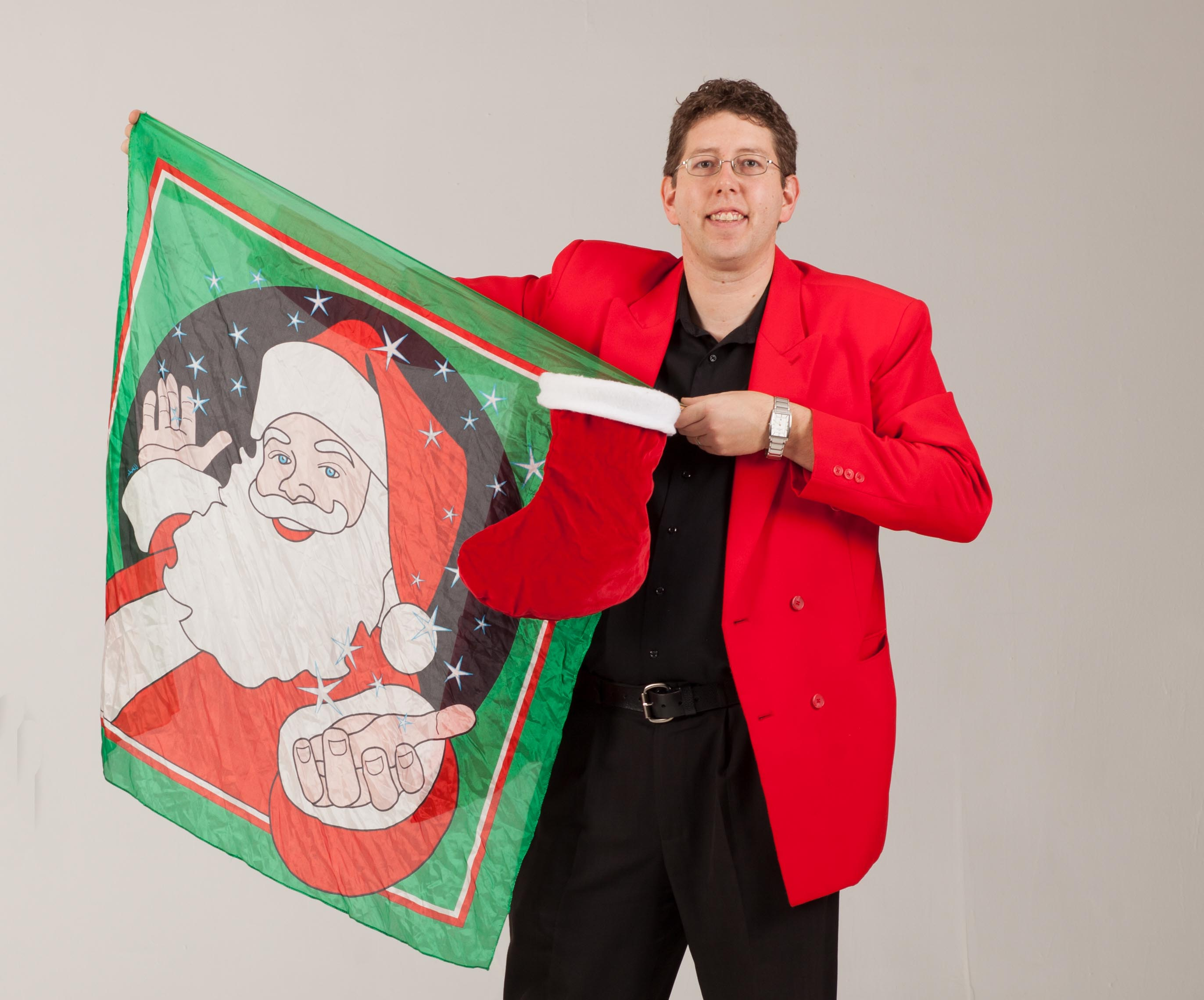 Christmas Magic Show for Children's Party Magician in NYC
